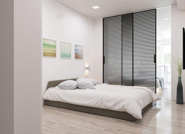 зонування спальні
