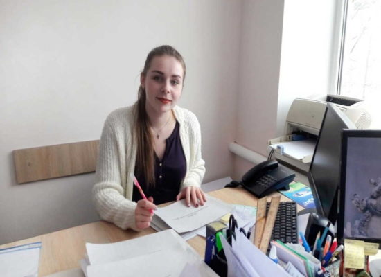 """студенти університету """"Україна"""" Тернопіль на практиці"""